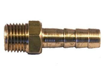Slangsockel 1/4 utv. 8mm